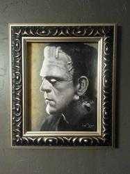 Frankenstein by timscottart