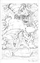 Hulk vs Namor p1
