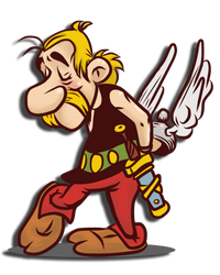 Asterix 'b' by Okina-tyan