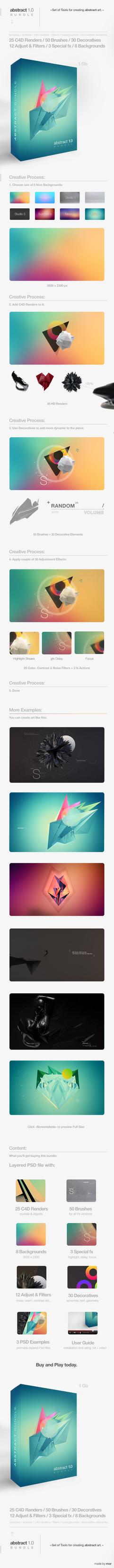 Abstract Art 1.0 Bundle by MrSuma