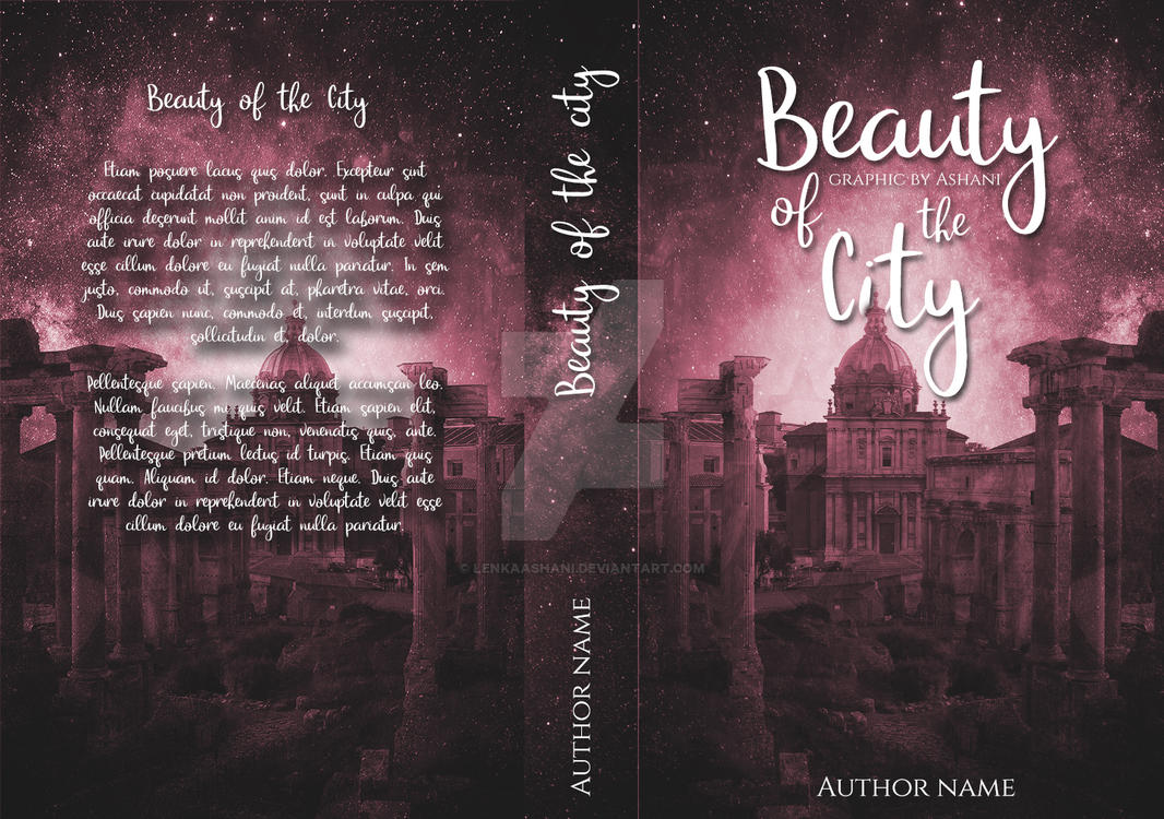 Beauty of the City - full book cover by LenkaAshani