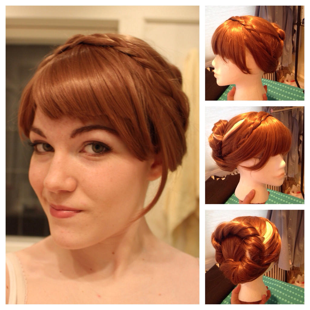 Frozen anna coronation dress overviewtutorial by booksartdance on anna coronation wig by captrogers baditri Image collections