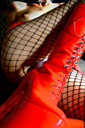 red boots by arobst