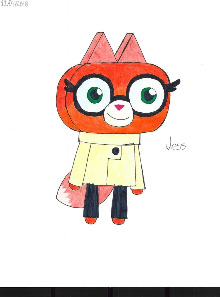 Unikitty!: Dr Fox by RoseHeartJess0313