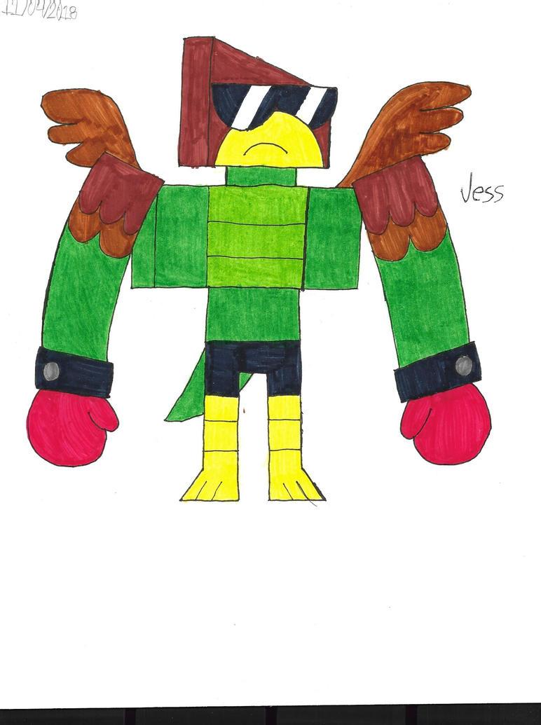 Unikitty!: Hawkodile by RoseHeartJess0313