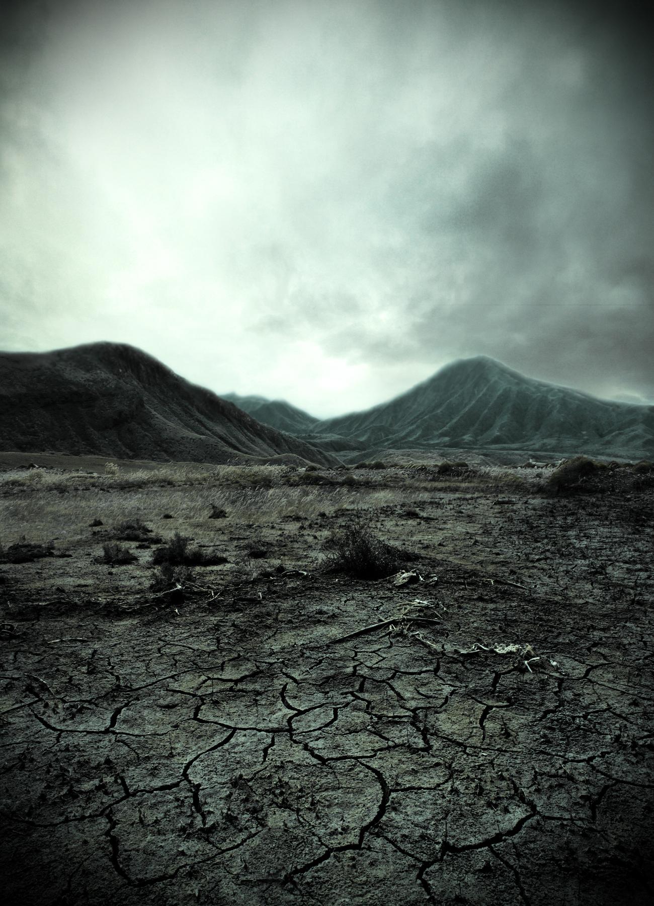 Barren landscape by nimiel78 on deviantart
