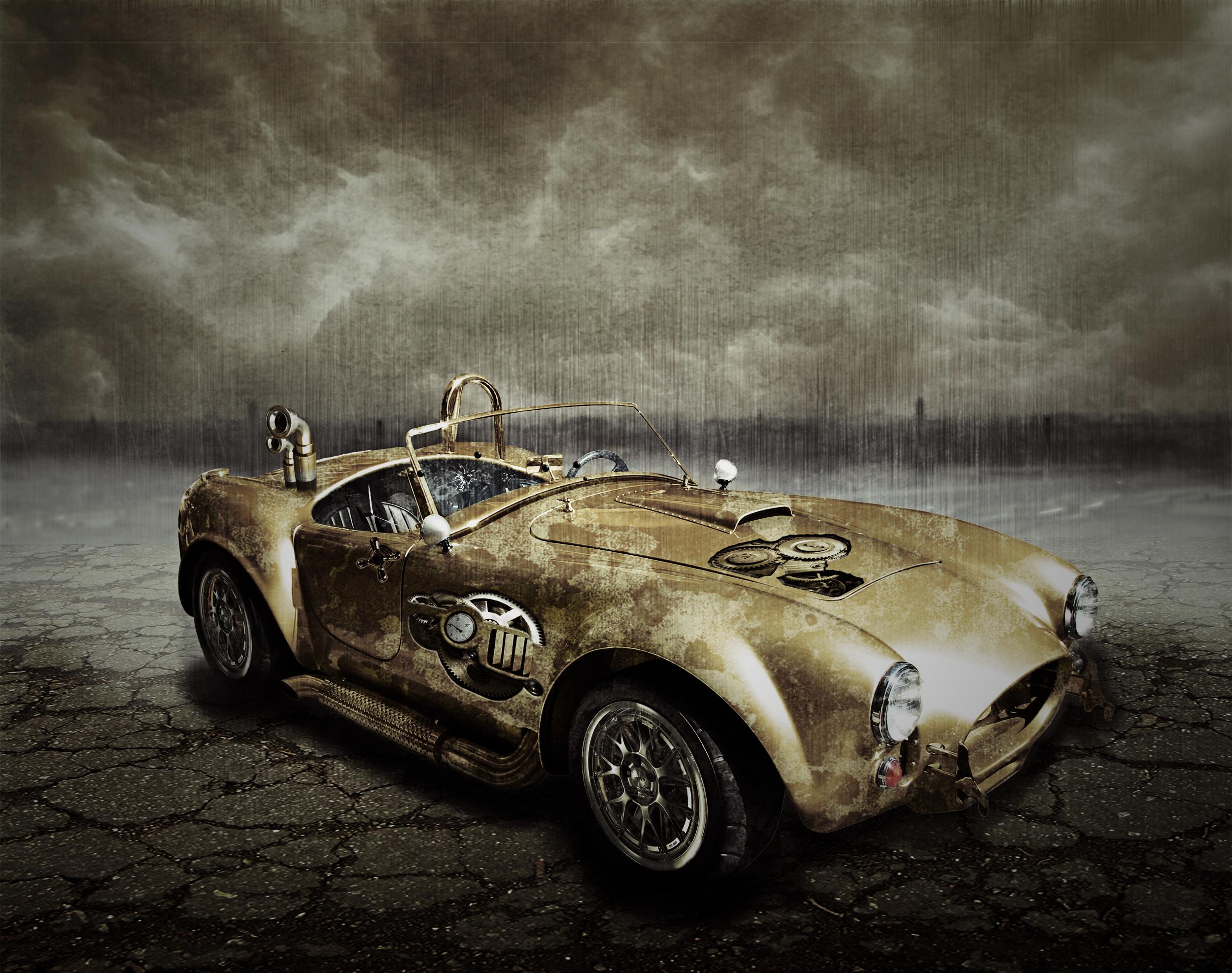 Steampunk car by Nimiel78 on DeviantArt