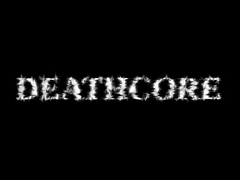 my first deathcore logo by ialiquam on deviantart
