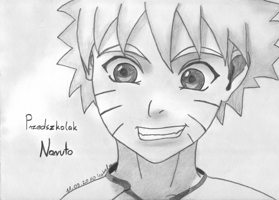 Pencil child naruto by isayuki
