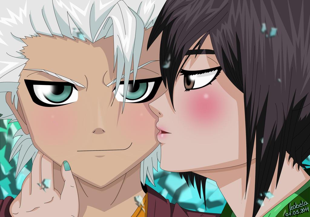 Toshirou and Momo by Isayuuki