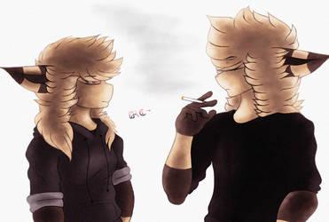 Felix and Raven