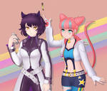 RWBY Cool Cats - Neon and Blake