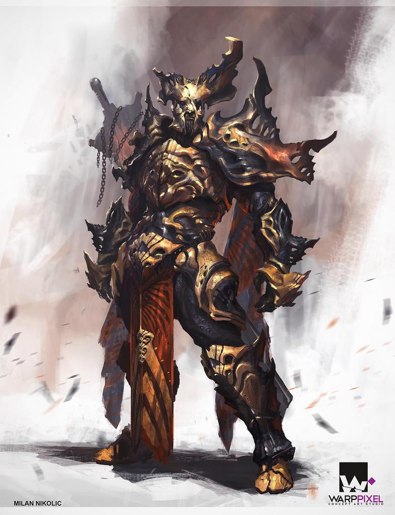 Warrior by Nookiew on DeviantArt  Warrior by Nook...