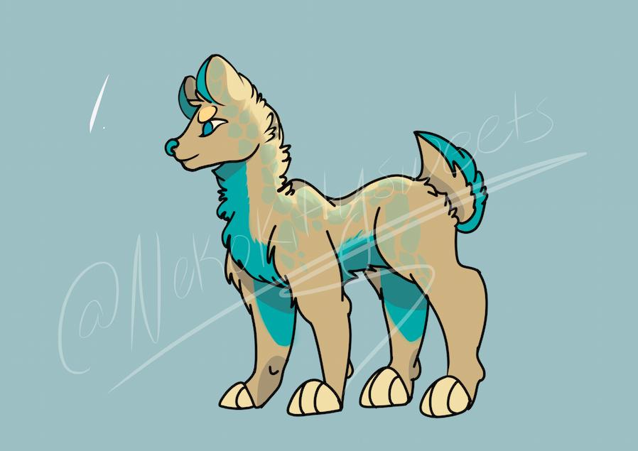 Lion Dog Adoptable Auction! [OPEN] by nekokittysweets