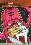 Galactus Surfer Marvel Card
