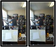 Studio Stereogram by gravyboy