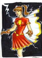 Classic Mary Marvel by gravyboy