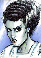 Bride of Frankenstein PSC by gravyboy