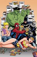 Virginia Comic Con poster by gravyboy