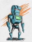 Robot Warm Up Sketch