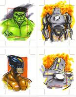 Marvel 70th Anniv 7 by gravyboy