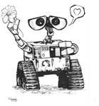 daily sketch WALL E