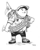 Daily Sketch: Russell from Up by gravyboy