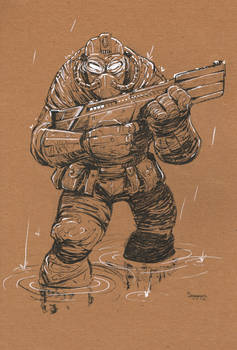 Character Design: Future Soldier
