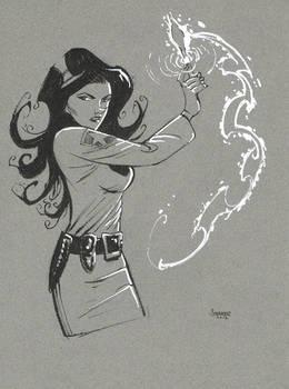 Deputy Witch Sketch