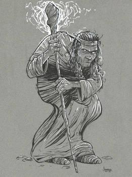 Character Design: Magic Beggar