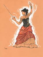 Daily Sketch: Spanish Fencer by gravyboy