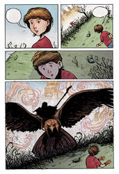 Page from an upcoming comic 5