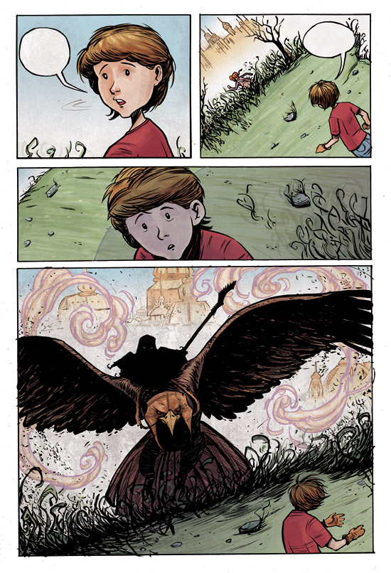 Page from an upcoming comic 5 by gravyboy