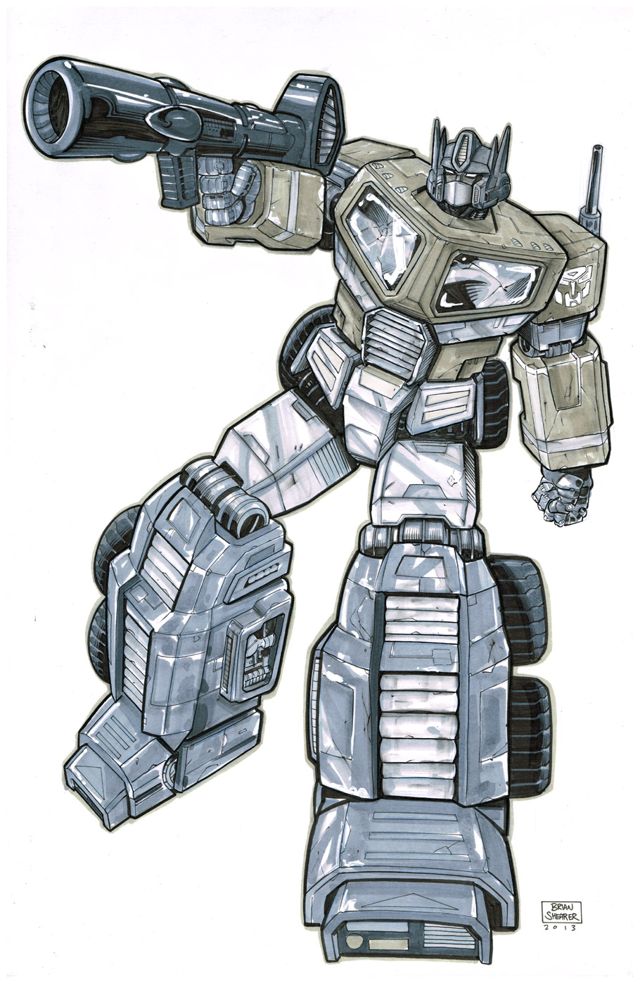 Optimus Prime by gravyboy