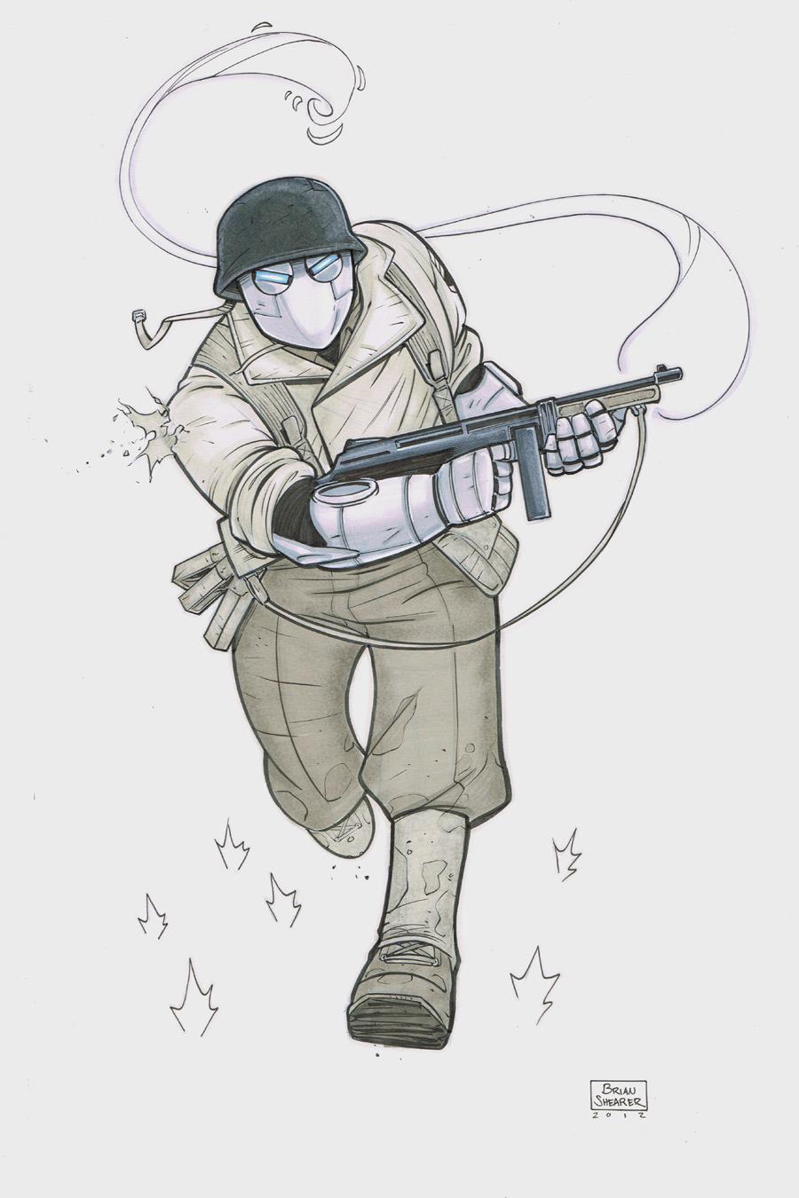 Atomic Robo by gravyboy