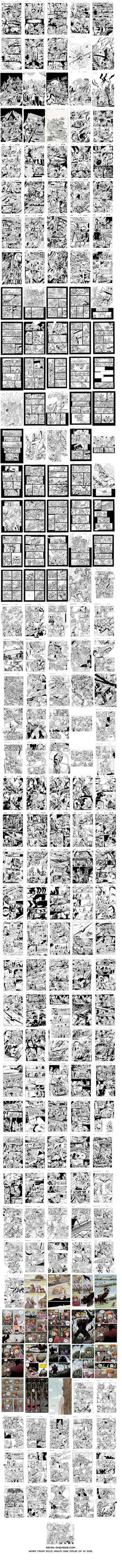 Most of the Work I did in 2013 - in one image