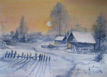 By evening by Metttko