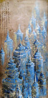 The city of pagodas by Metttko