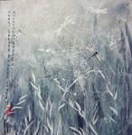 Dance of the dragonflies by Metttko