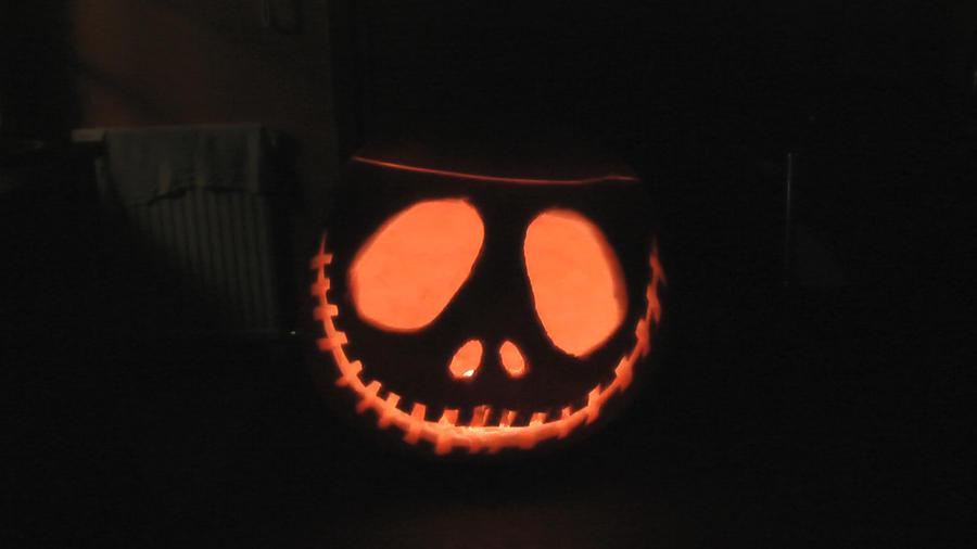 Jack Skellington Pumpkin Carving Template