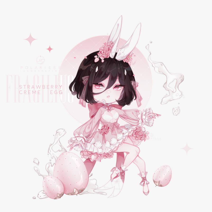 [ easter petit treats ] Strawberry Creme   closed