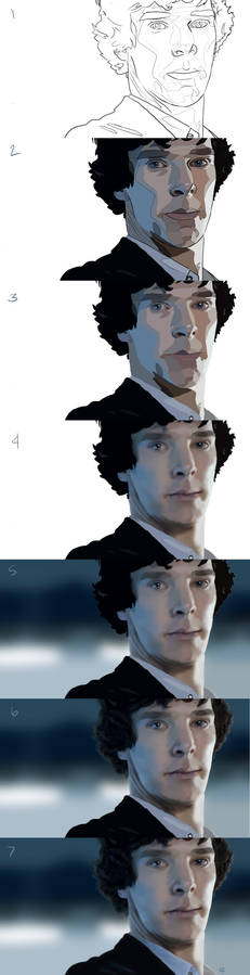 Sherlock - Step by step