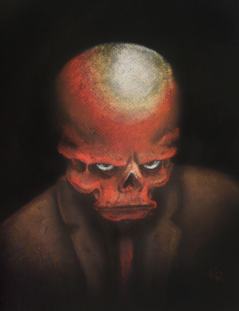 Red Skull by KStarrLynn