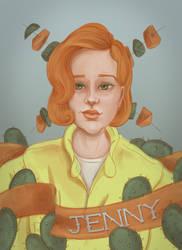 Jenny Stahl by KStarrLynn