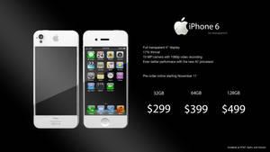 iPhone 6 White Advertisement