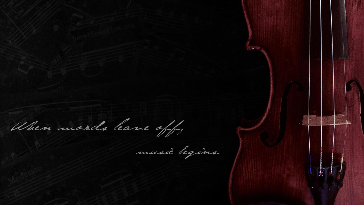 Violin Wallpaper by xe...