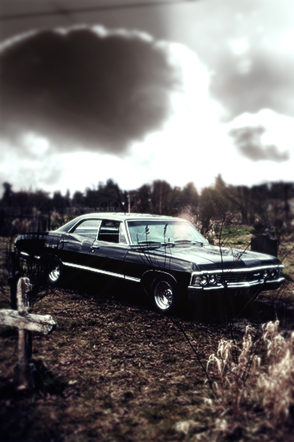 supernatural car impala wallpaper - photo #6