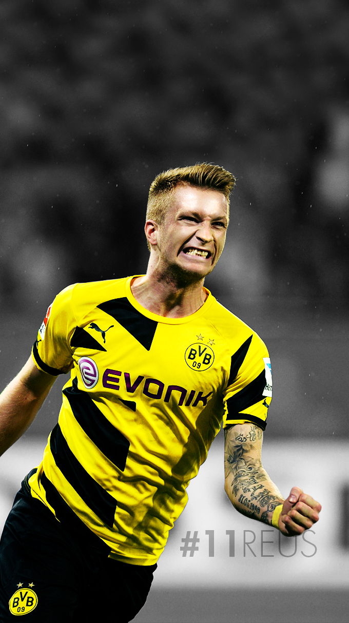 Marco Reus iPhone Wallpaper by xerix93