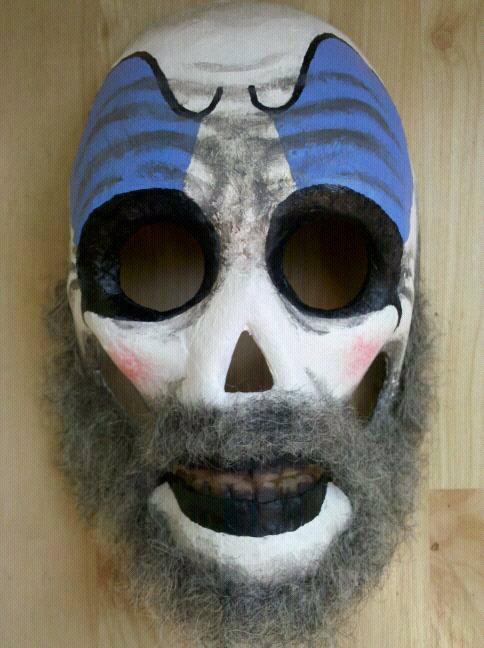 Captain Spaulding Mask by eugenekaik ... & Captain Spaulding Mask by eugenekaik on DeviantArt