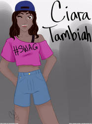 Ciara Tambiah!  [[READ BELOW]]